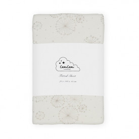 Fitted Sheet 70 x 140 cm - Dandelion Natural