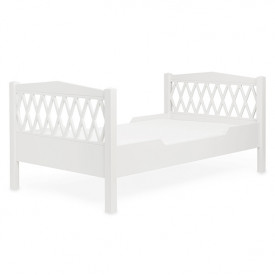 Junior Bed Harlequin 90x160cm - White