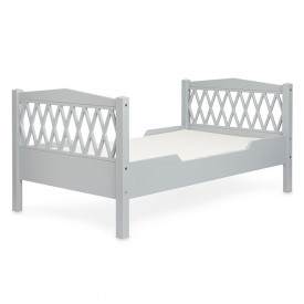 Junior Bed Harlequin 90x160cm - Grey
