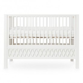 Harlequin Baby bed - White
