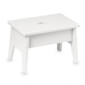 Harlequin Step Stool - White