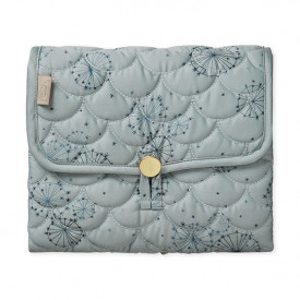 Travel Changing Mat - Quilted - Dandelion Petrol