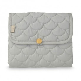 Travel Changing mat - Quilted - Grey