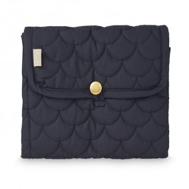 Travel Changing mat - Quilted - Navy