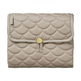 Travel Changing Mat - Quilted - Hazelnut
