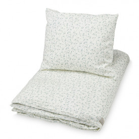 Bed Linen 100 x 140 - Green Leaves