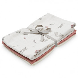 Muslin Cloth - 3 Pack - Mix Fawn