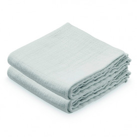 Set of 2 Muslin Cloths - Mint