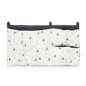 Bed Pocket - Sailboats
