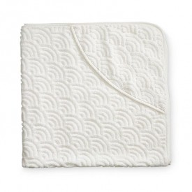 Baby towel hooded - Off-white