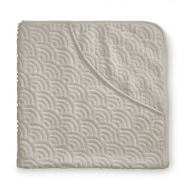 Baby towel hooded - Light Sand