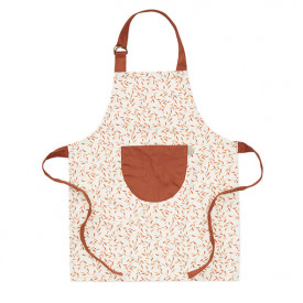 Kids Apron - Caramel Leaves