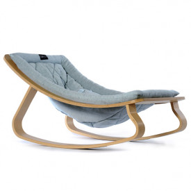 Baby Rocker Levo Birch & Aruba Blue