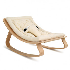 Baby Rocker Levo Birch & Organic White