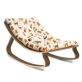 Baby Rocker Levo Walnut & Jaguar