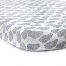 Fitted sheet Cloud - 70 x 150