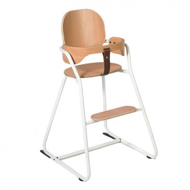 Convertible High Chair Tibu - White White Charlie Crane