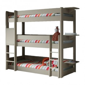Dominique Triple Bunk Bed - 196cm