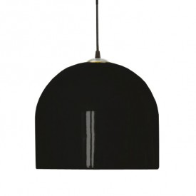 Hanging Lamp BELO H 27 cm D 30 cm - Black