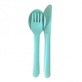 Cutlery Set for Kids - Blue