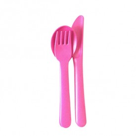 Cutlery Set for Kids - Pink