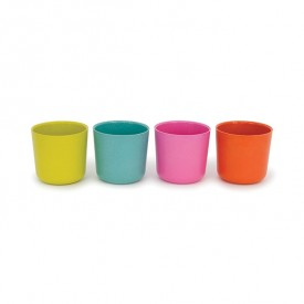 Pack of 4 cups - Lagoon