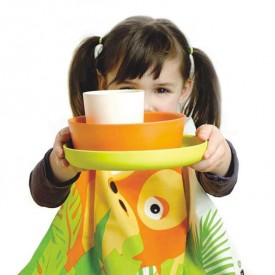 Bambino Dish Set for Kids - Orang-Outan - Limited Edition