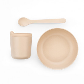 Bambino Dish Set for Babies - Blush