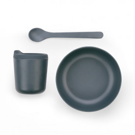 Bambino Dish Set for Babies - Storm