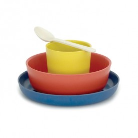 Bambino dish set for kids - Tomato