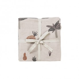Set of 3 Muslin Cloths - Fruiticana