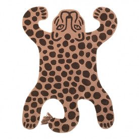 Safari Tufted Rug - Leopard