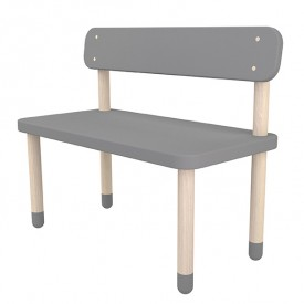 Small bench PLAY - Grey