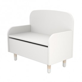 Bench / Toy Box PLAY - White