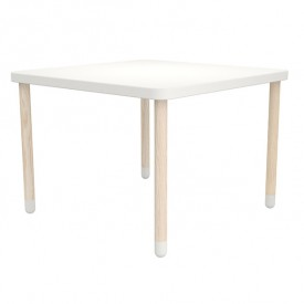 Small square table PLAY - White