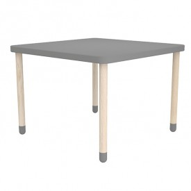 Small square table PLAY - Grey