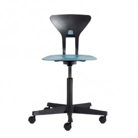 Ray Study Chair - Blue