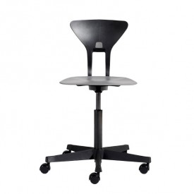 Ray Study Chair - Grey