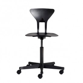 Ray Study Chair - Black