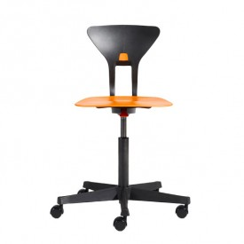 Ray Study Chair - Orange