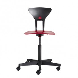 Ray Study Chair - Red