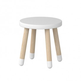 PLAY Small Stool - White