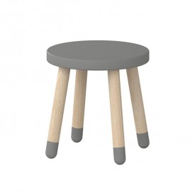 PLAY Small Stool - Grey
