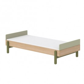 Single bed with headboards Popsicle 90 x 200 cm - Kiwi