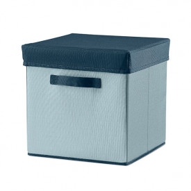 Room Fabric Storage Box - Frosty Blue