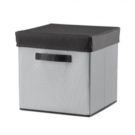 Room Fabric Storage Box - Mountain Grey