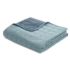 Room Quilt 230 x 130 - Frosty Blue