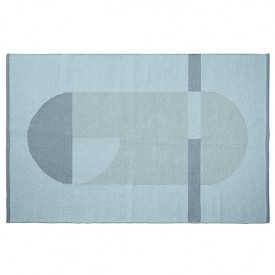 Room Rug 120 x 180 - Frosty Blue