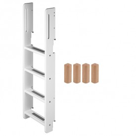 Conversion kit bunk bed - White / Birch