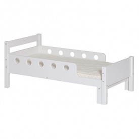 White Junior Bed 70x140/190cm